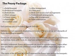 The Peony Package