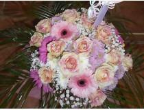 Bouquet 65€ Pink Tiger Rose