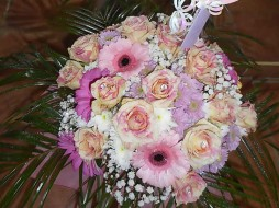 Pink Rose Mixed Bouquet €65